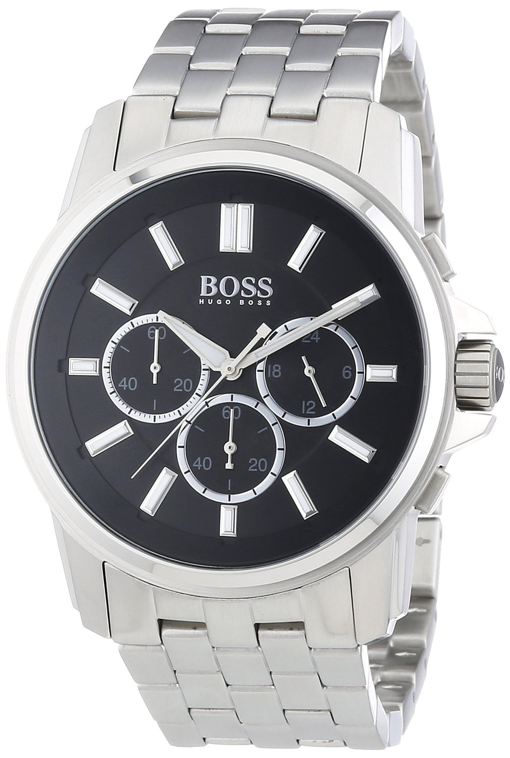 how to change the date on a hugo boss watch