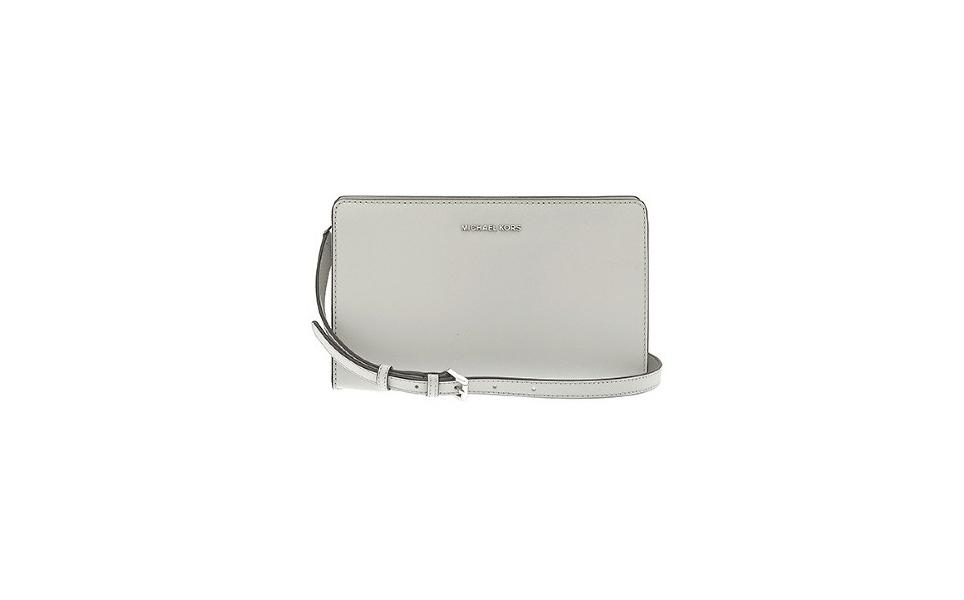 Michael Kors Jet Set Large Leather - Clutch - Pearl Grey - 3