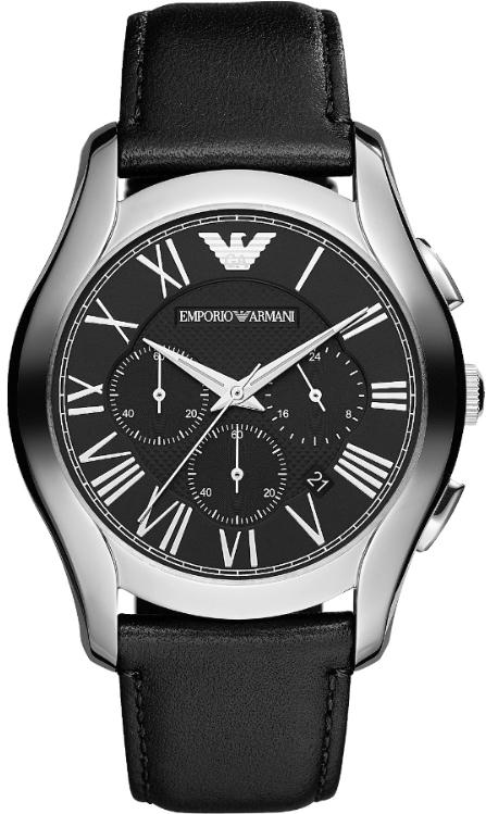 Emporio-Armani-Black-Leather-Chronograph-Mens-Watch-AR1700