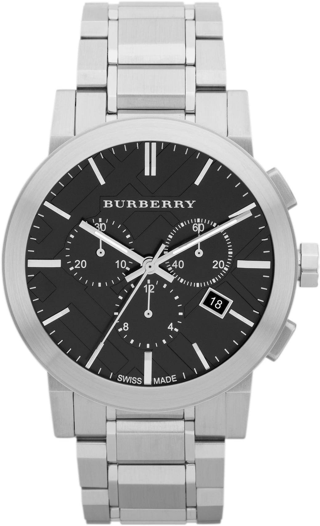 burberry die stadt chronograph herren armbanduhr bu9351 ebay. Black Bedroom Furniture Sets. Home Design Ideas
