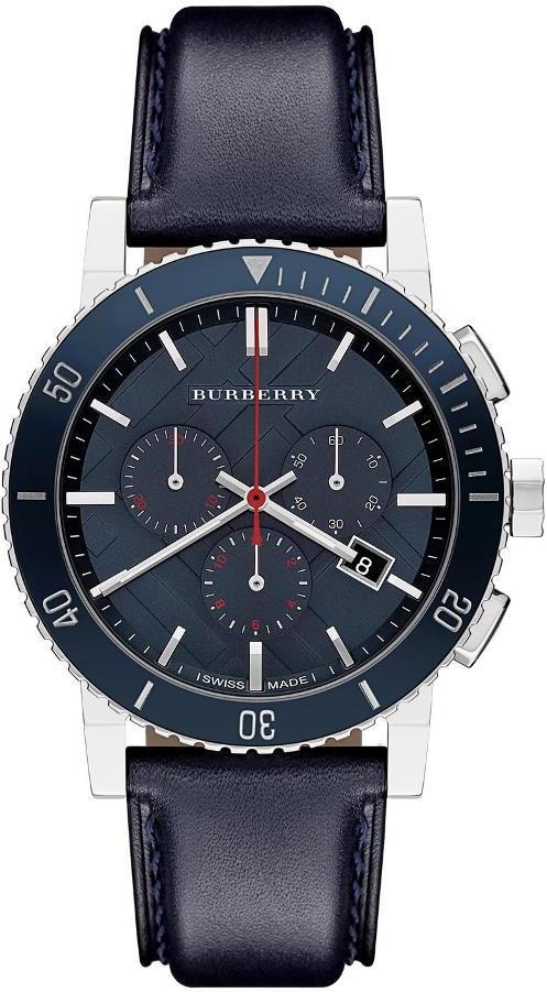 armbanduhr herren burberry chronograph bu9383 ebay. Black Bedroom Furniture Sets. Home Design Ideas