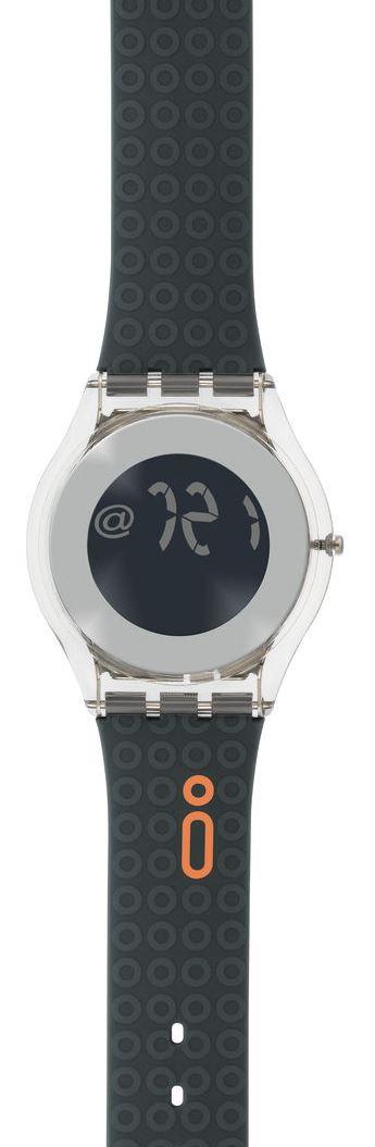 swatch iswatch digital sik121d ebay